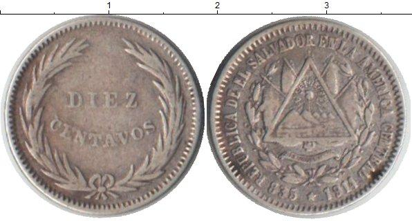 Каталог монет - Сальвадор 10 сентаво