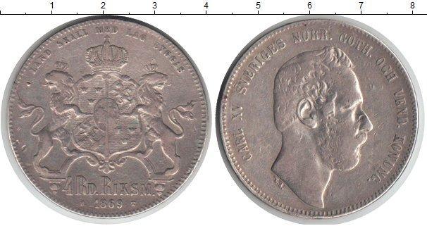 Каталог монет - Швеция 4 марки