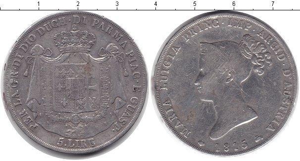 Каталог монет - Парма 5 лир