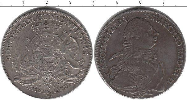 Каталог монет - Баден 1 талер