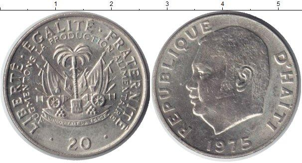 Каталог монет - Гаити 20 сентим