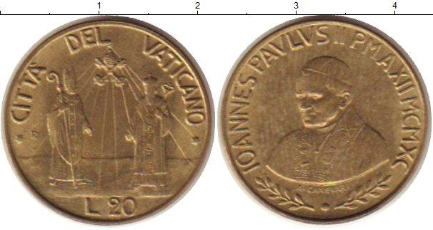 Каталог монет - Ватикан 20 лир
