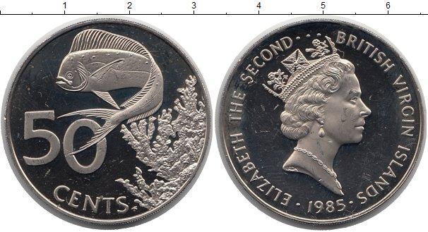 Каталог монет - Виргинские острова 50 центов