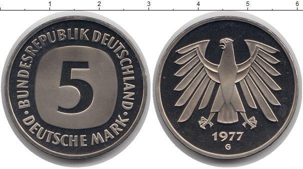 Каталог монет - Германия 5 марок