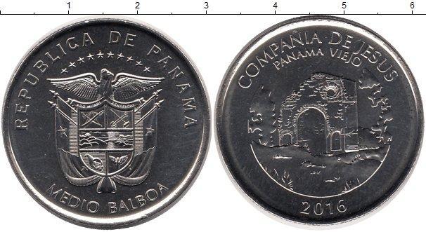 Каталог монет - Панама 1/2 бальбоа