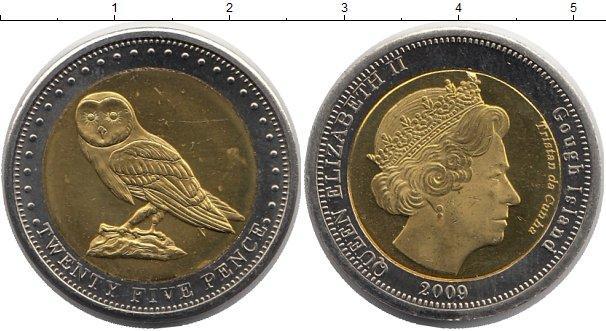 Каталог монет - Тристан-да-Кунья 25 пенсов
