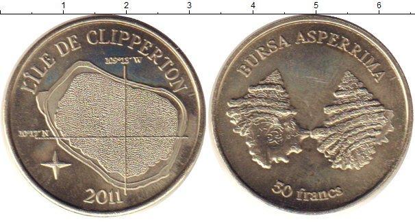 Каталог монет - Остров Клиппертон 50 франков