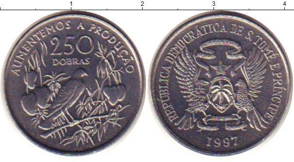 Каталог монет - Сан-Томе и Принсипи 250 добрас