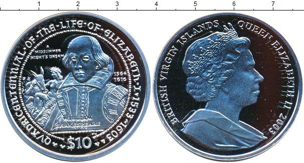 Каталог монет - Виргинские острова 10 долларов