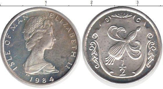 Каталог монет - Остров Мэн 1/2 пенни