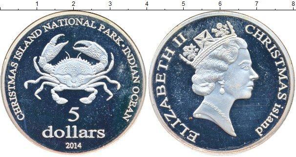 Каталог монет - Океания 5 долларов