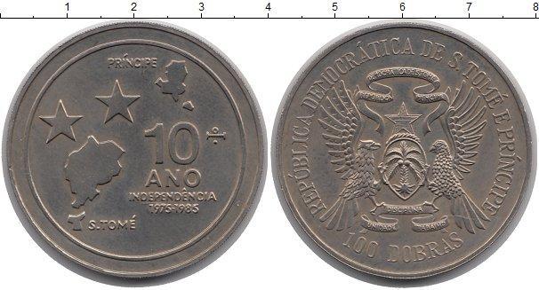Каталог монет - Сан-Томе и Принсипи 100 добрас