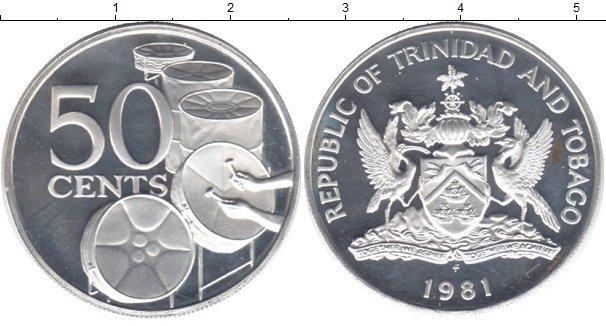 Каталог монет - Тринидад и Тобаго 50 центов