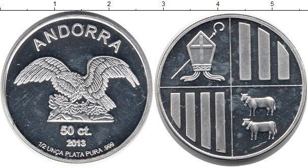 Каталог монет - Андорра 20 сантим