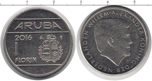 Каталог монет - Аруба 1 флорин