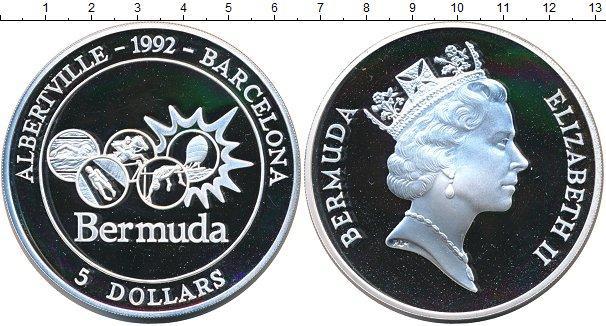Каталог монет - Бермудские острова 5 долларов
