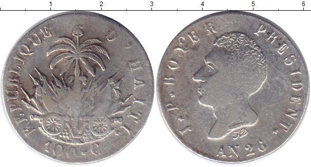 Каталог монет - Гаити 100 сентим