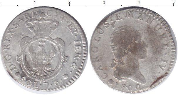 Каталог монет - Сардиния 7,6 сольди