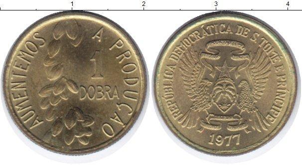 Каталог монет - Сан-Томе и Принсипи 1 добра