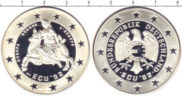 Каталог монет - Германия 1 экю