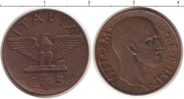 Каталог монет - Италия 5 сентим