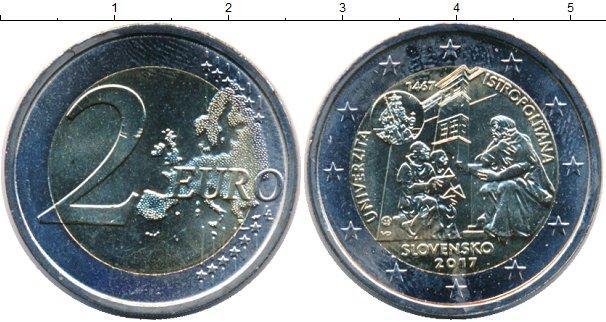 Каталог монет - Словакия 2 евро