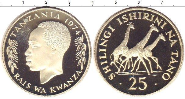 Каталог монет - Танзания 25 шиллингов