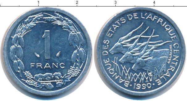 Каталог монет - Французская Африка 1 франк