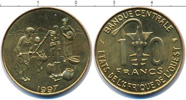 Каталог монет - Французская Западная Африка 10 франков