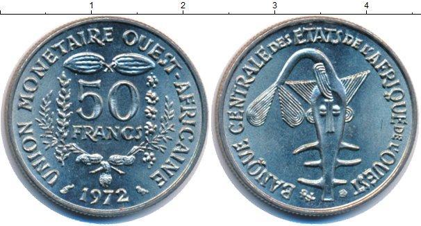 Каталог монет - Французская Западная Африка 50 франков