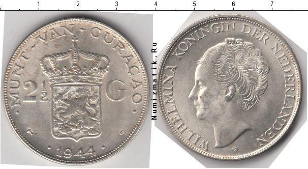 Каталог монет - Кюрасао 2 1/2 гульдена