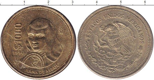 Каталог монет - Мексика 1000 песо