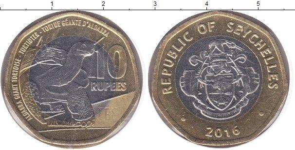 Каталог монет - Сейшелы 10 рупий