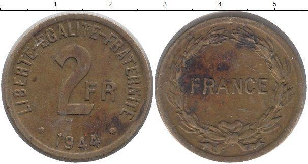 Каталог монет - Франция 2 франка