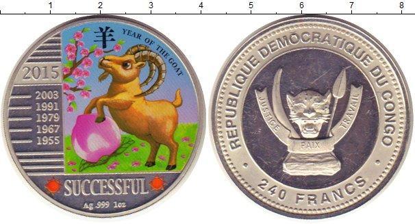 Каталог монет - Конго 240 франков