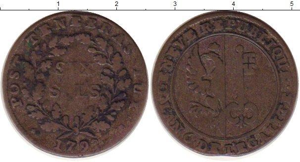 Каталог монет - Женева 6 соль