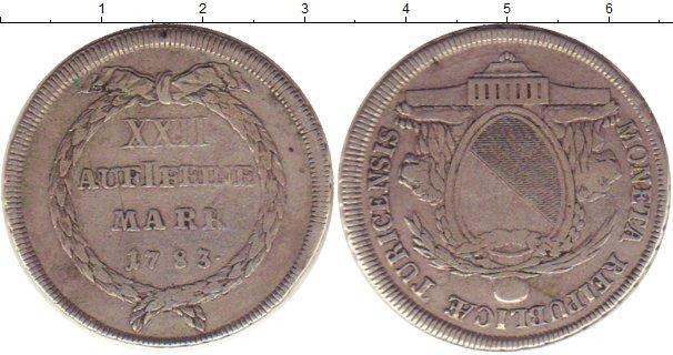 Каталог монет - Цюрих 1/2 талера