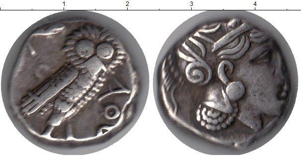 Каталог монет - Древняя Греция 1 тетродрахма