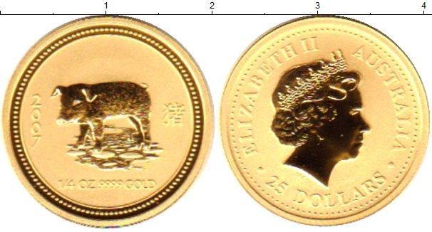 Каталог монет - Австралия 25 долларов