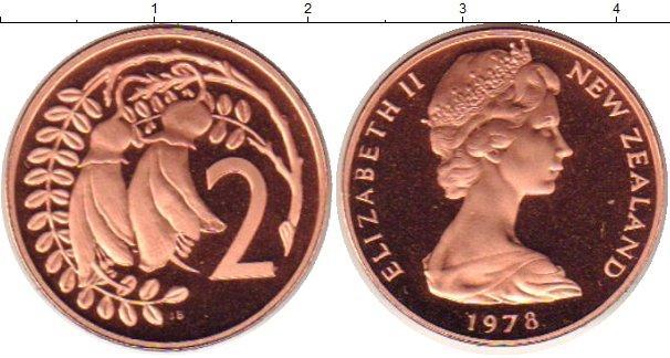 Каталог монет - Новая Зеландия 2 пенса