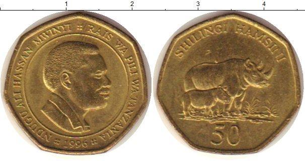Каталог монет - Танзания 50 шиллингов