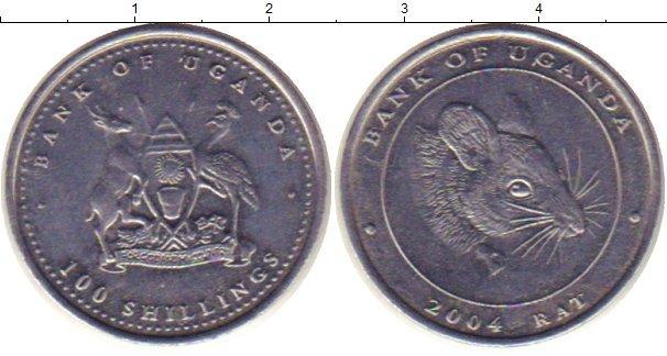 Каталог монет - Уганда 100 шиллингов