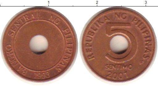 Каталог монет - Филиппины 5 сентаво