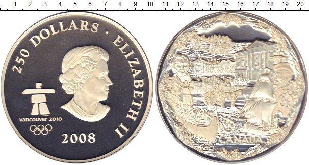 Каталог монет - Канада 250 долларов
