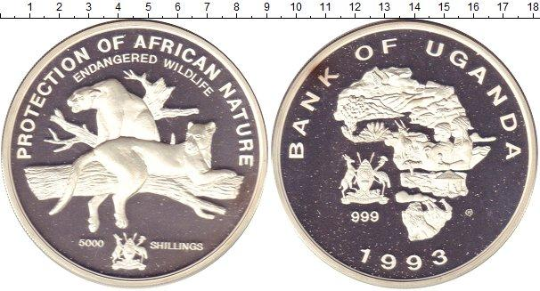 Каталог монет - Уганда 5000 шиллингов