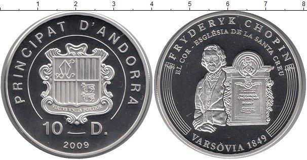 Каталог монет - Андорра 10 динерс