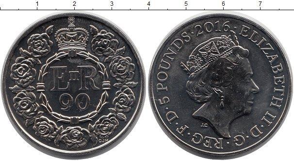 Каталог монет - Великобритания 5 фунтов