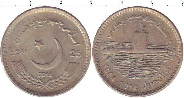Каталог монет - Пакистан 25 рупий