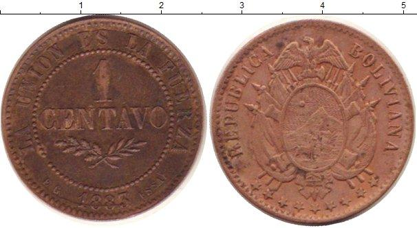 Каталог монет - Боливия 1 сентаво
