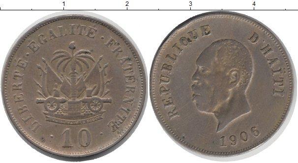 Каталог монет - Гаити 10 центов